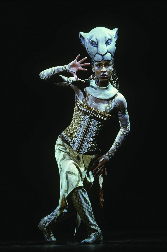 Kissy Simmons as Nala in The Lion King.