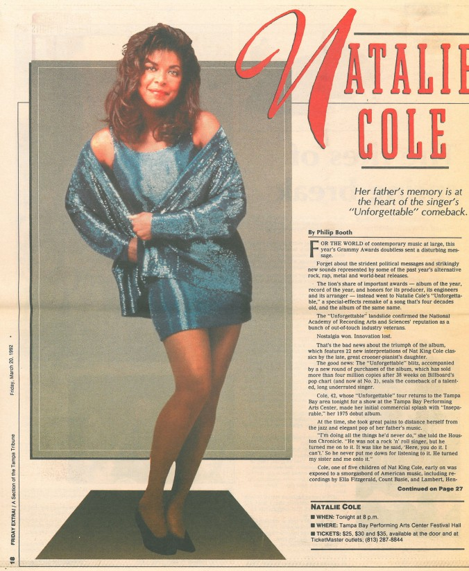 Natalie Cole from the vault