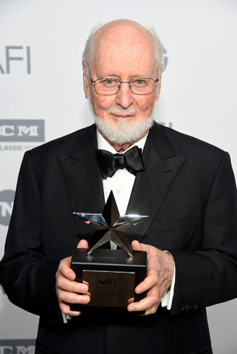 John Williams with the AFI Life Achievement Award