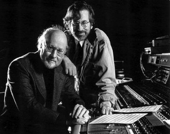 Composer John Williams with Director Steven Spielberg
