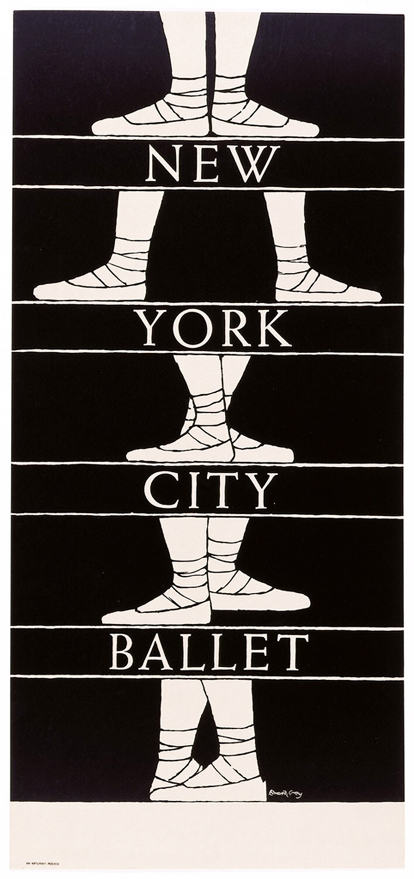 Poster, New York City Ballet, 19601980
