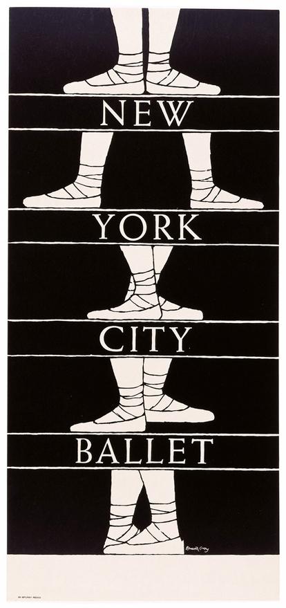 Poster, New York City Ballet, 19601980