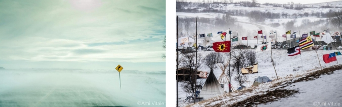standing rock collage