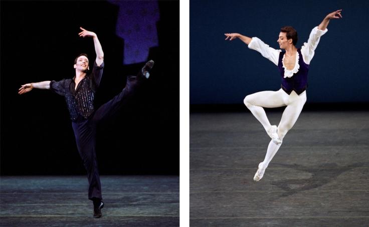 Philip dancing with NYCB collage (Paul Kolnik)