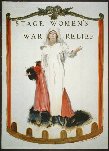 stage womens war relief