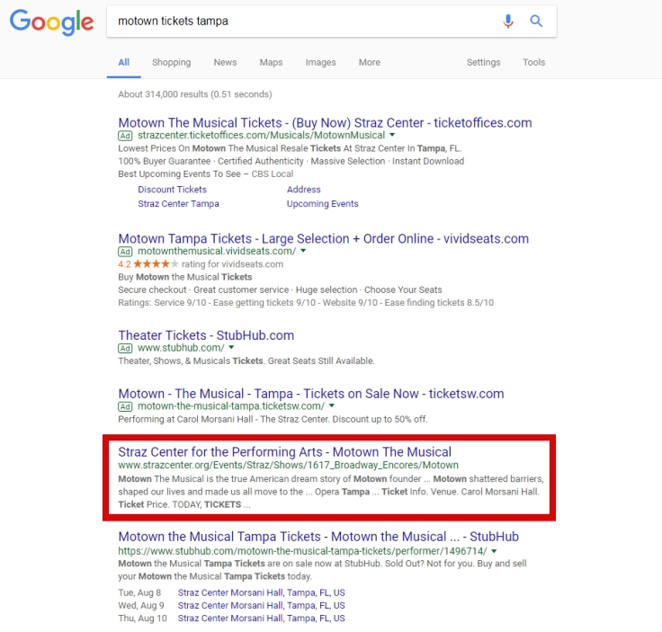 Motown search results