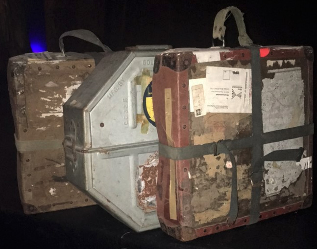 reel cases from Tampa Theatre