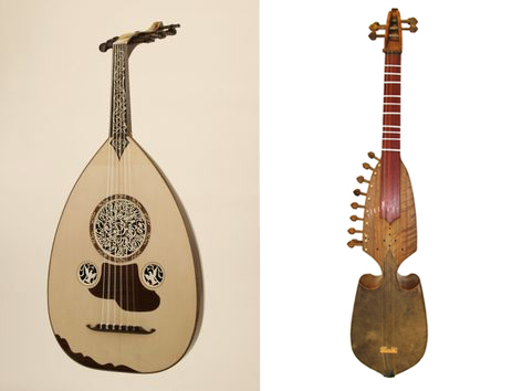 oud-rebab collage