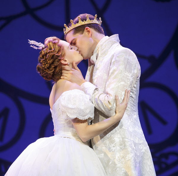 CinderellaTour3135r_Hayden Stanes and Tatyana Lubov in Rodgers + Hammerstein_s CINDERELLA. © Carol Rosegg