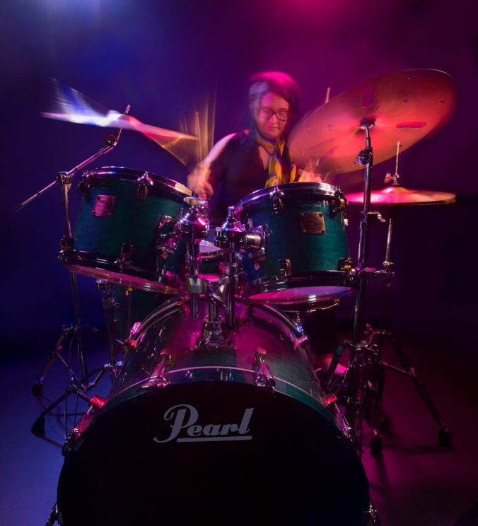 HIGH RES Drummer Meg Cover 2 by Rob-Harris 9842