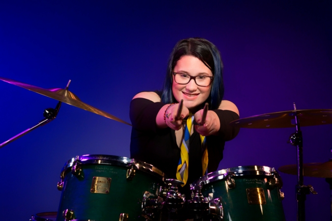 HIGH RES Drummer Meg Portrait by Rob-Harris 9878