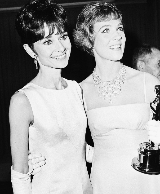 Julie and Audrey