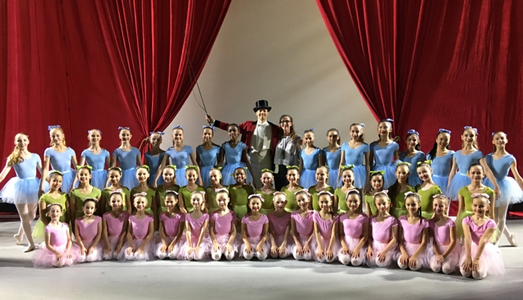 Circus Polka cast photo w me and Philip Patel 2017