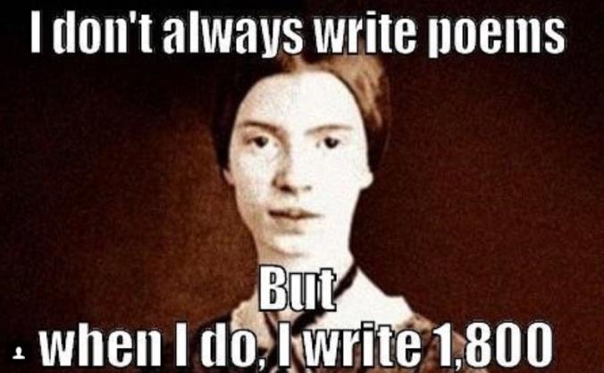 Emily Dickinson meme