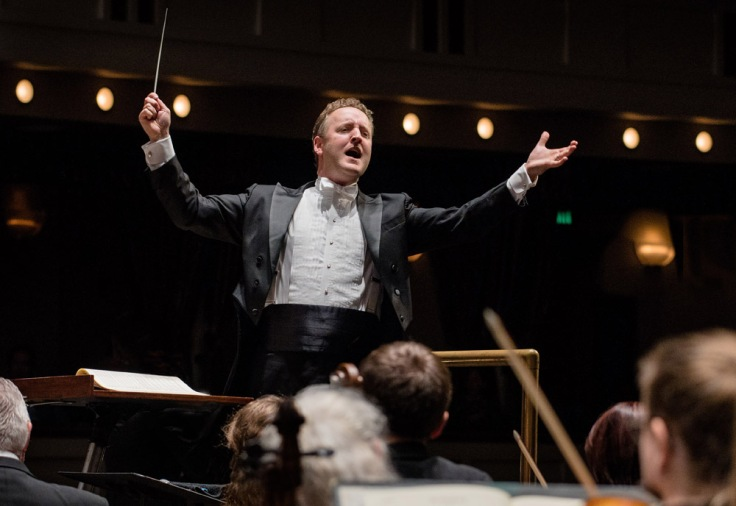 Michael Francis conductor, The Florida Orchestra, Mahaffey Theater, March 23, 2019